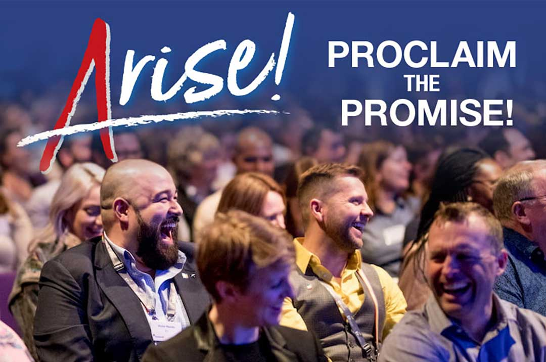 ARISE! PROCLAIM THE PROMISE! 3 - 5 March 2021